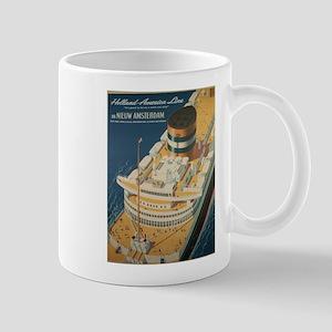 Vintage poster - Cruise ship Mugs