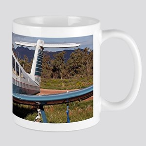 Low wing aircraft, Outback Australia 3 Mugs