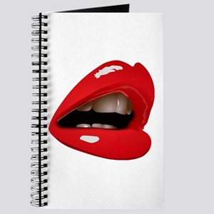 Red Lips Sexy Kiss Journal