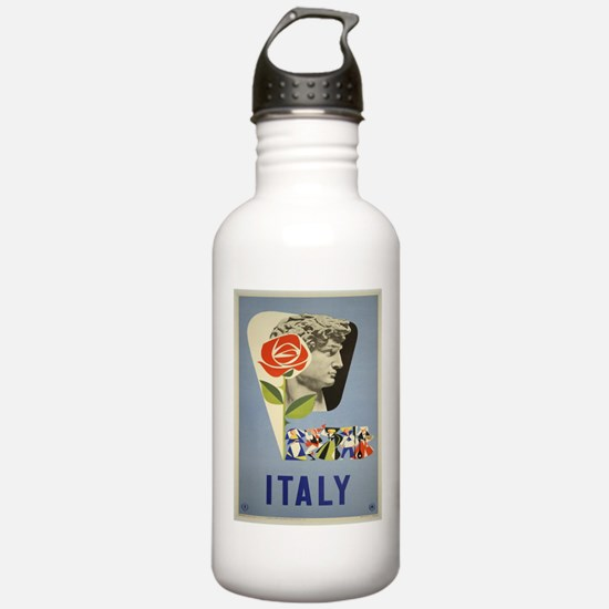 Vintage poster - Italy Water Bottle