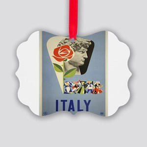Vintage poster - Italy Picture Ornament