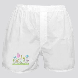 Spring Flowers Boxer Shorts