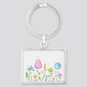 Spring Flowers Keychains