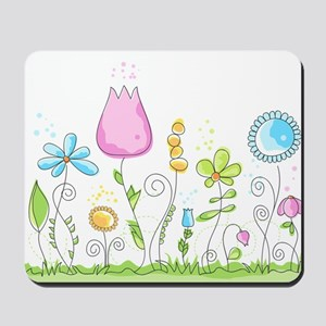 Spring Flowers Mousepad