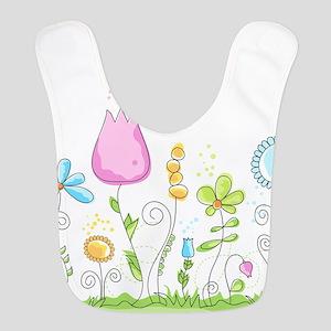 Spring Flowers Bib