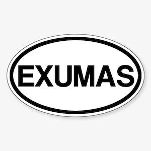 Exumas Sticker