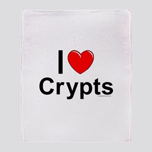 Crypts Throw Blanket