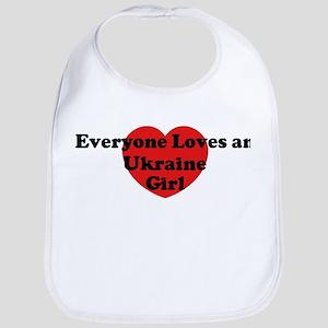 Ukraine girl Bib