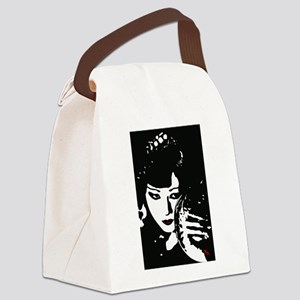 Anna Mae Ink Art Canvas Lunch Bag