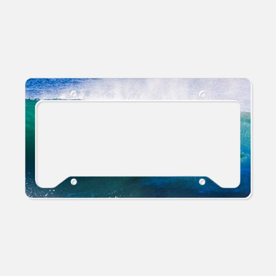 Cute Surfing License Plate Holder