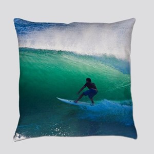 Surfing The Tube Everyday Pillow