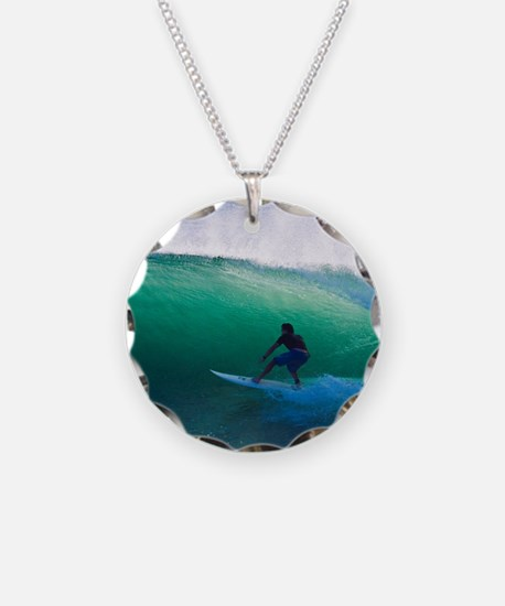 Surfing The Tube Necklace