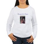 Monkey Artist Hippie Long Sleeve T-Shirt