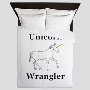 Unicorn Wrangler Queen Duvet
