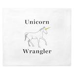 Unicorn Wrangler King Duvet