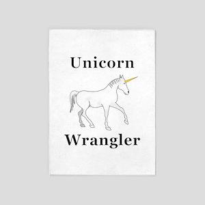 Unicorn Wrangler 5'x7'Area Rug