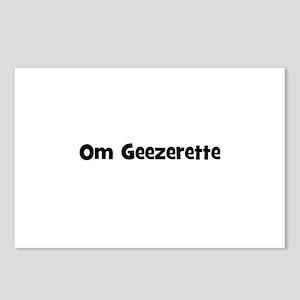 Om Geezerette Postcards (Package of 8)