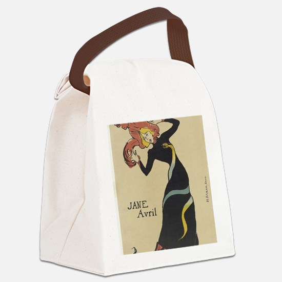 Cool Hip Canvas Lunch Bag