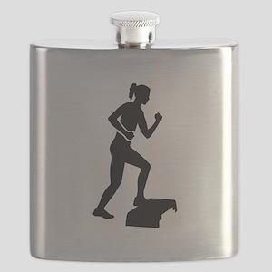Step aerobics Flask