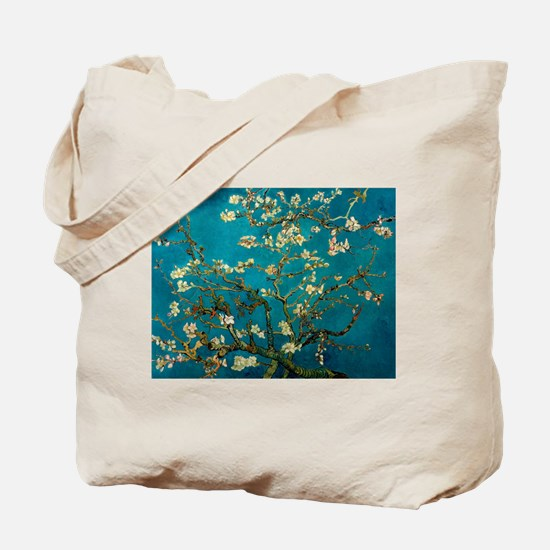 Cool Almond blossom Tote Bag