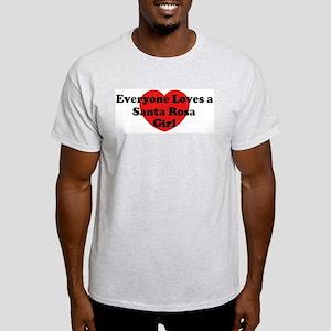 Santa Rosa girl Light T-Shirt