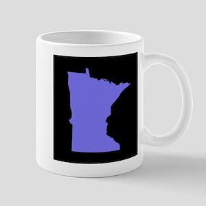 minnesota purple black Mug