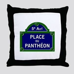 Place du Panthéon, Paris - France Throw Pillow