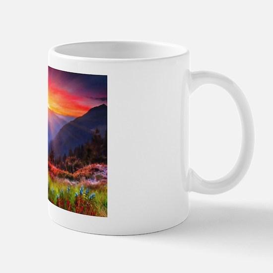 High Country Sunset Mug Mugs