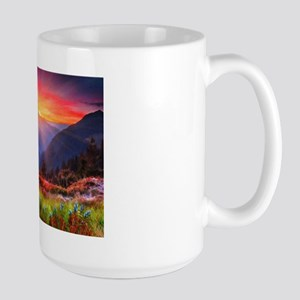 High Country Sunset Large Mug Mugs