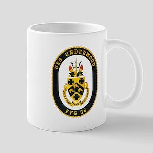 Undwerwood crest Mugs
