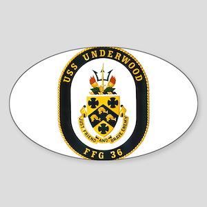 Undwerwood crest Sticker