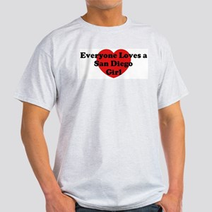 San Diego girl Light T-Shirt