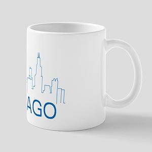 Chicago Blue Line Mugs