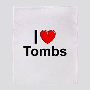 Tombs Throw Blanket
