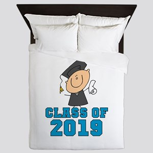Boy Grad Class of 2016 Queen Duvet