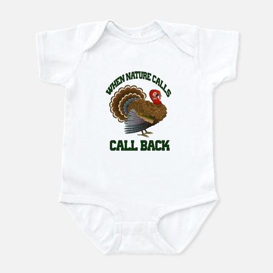 Turkey Call Infant Bodysuit