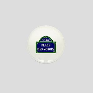 Place des Vosges, Paris - France Mini Button