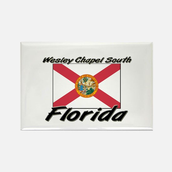 Wesley Chapel South Florida Rectangle Magnet