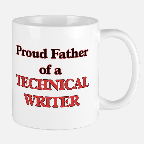 Proud Father of a Technical Writer Mugs