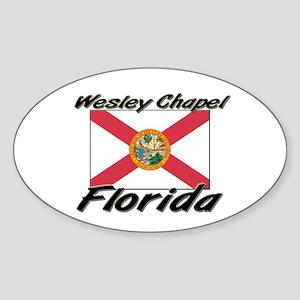 Wesley Chapel Florida Oval Sticker