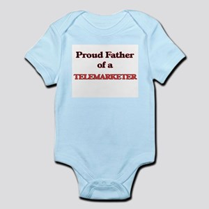 Proud Father of a Telemarketer Body Suit