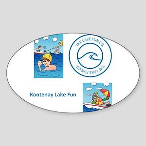 Kootenay Lake Sticker