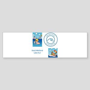 Kanji Wetland Bumper Sticker