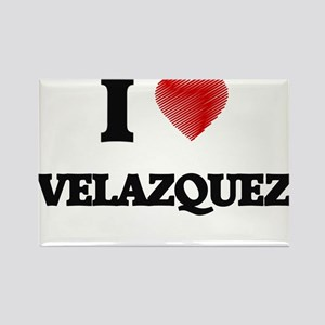 I Love Velazquez Magnets