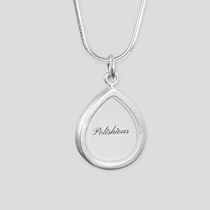 Silver Teardrop Necklace Necklaces