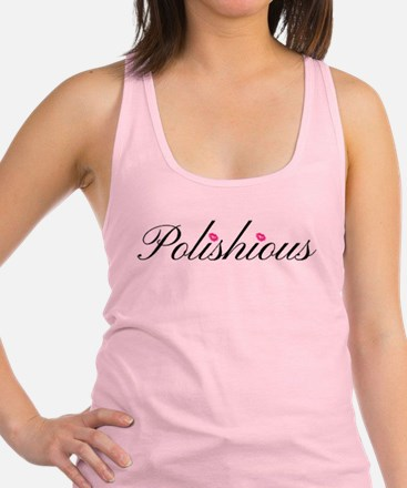 Unique Pink lip Racerback Tank Top