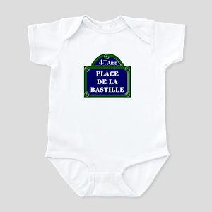 Place de la Bastille, Paris - France Infant Bodysu