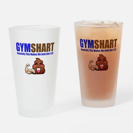 GymShart Drinking Glass