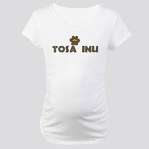 Tosa Inu (dog paw) Maternity T-Shirt