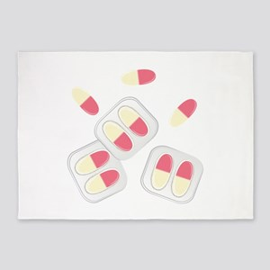 Medication 5'x7'Area Rug